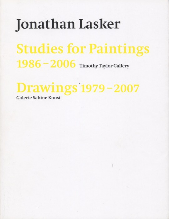 lasker drawings studies